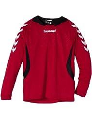 Hummel team player poly long sleeve - Camiseta de equipación de balonmano, color multicolor, talla 140 / 152 ( 10-12 )