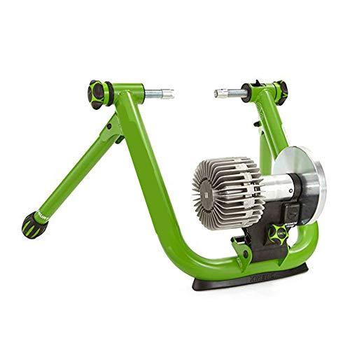 Yishelle-Bicycle Fahrradtrainer mit magnetischem Turbolader - Variabler Widerstand Indoor Bike Trainer für Road & Mountain Fahrräder für Indoor-Fahrräder grün -