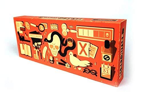 Oriental eLife Secret Hitler Brett-Kartenspiel EIN Versteckter Identitäts-Kartenspiel für Party