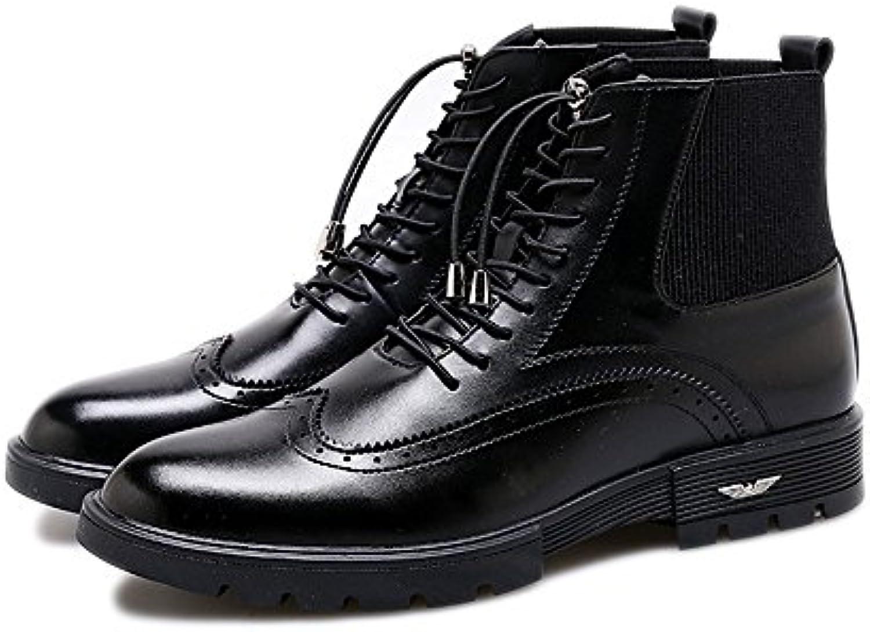 Männer  mode  freizeit  und martin stiefel für outdoor  freizeit  schuhe schwarz 40