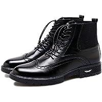 Frenillo, Low Heel Shoes, men chelsea boots, Vogue encaje negro y zapatos de tacon bajo,Black,Cuarenta y dos