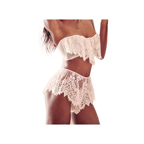a71135278eabfe GELORT& Sexy Lingerie Exotic Mesh Transparent Nightwear Lace Intimates Hot  Sexy Underwear Temptation Pajamas Lenceria #DK8950 S M