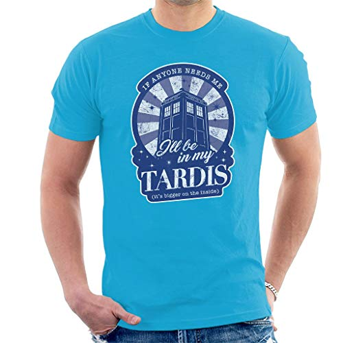 Kostüm Mädchen Tardis - Ill Be in My Tardis Men's T-Shirt M