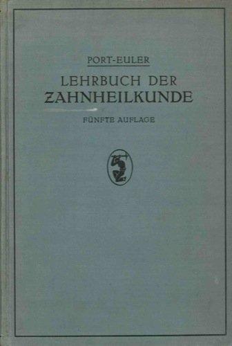 Lehrbuch der Zahnheilkunde.