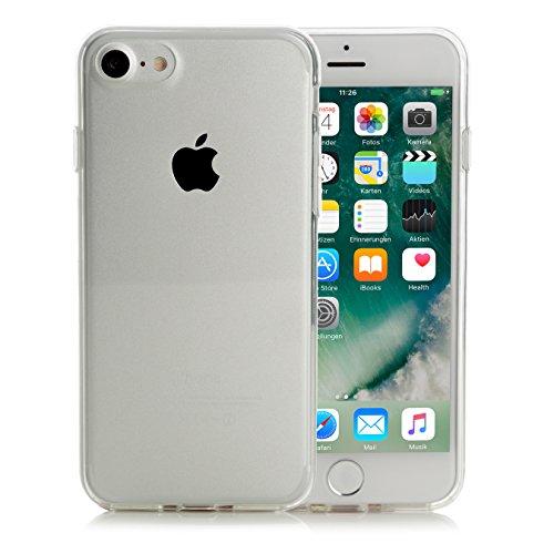 Hülle kompatibel mit iPhone 7 und iPhone 8, Arktis TPU Silikon Schutzhülle Handyhülle Invisible Air Case - Klar Transparent Durchsichtig Clear Klare Schutzhülle