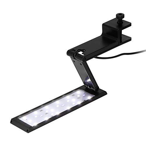 ZWD LED Aquarium Light, 7W LED Aquarium Light per Barriere Coralline di barriera corallina per Piante di Acqua Dolce e Acqua salata