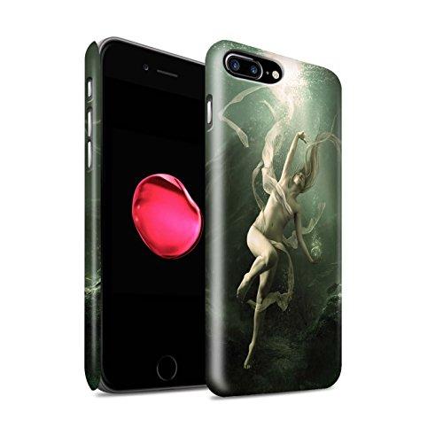 Offiziell Elena Dudina Hülle / Matte Snap-On Case für Apple iPhone 8 Plus / Pack 7pcs Muster / Agua de Vida Kollektion Unterwasser