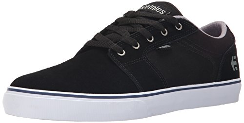 Etnies - BARGE LS, Scarpe da skateboard uomo, color Nero (976/BLACK/WHITE), talla 43