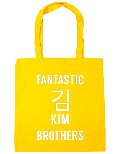 hippowarehouse-fantastic-kim-brothers-tote-shopping-gym-beach-bag-42cm-x38cm-10-litres