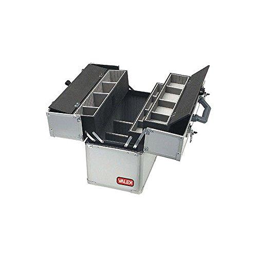 Maxi Werkzeugkoffer Aluminium rinfozato- 5Fächer–Valex