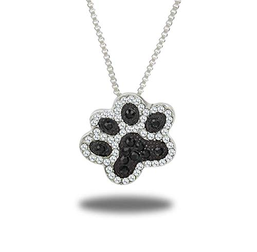 Your boy-HT Creative Jewelry Full Diamond Dog Pendant Accessories Exquisite and Simple, Stylish and Versatile -