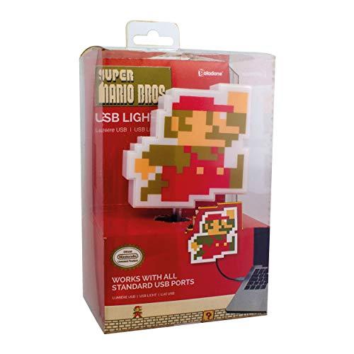 Paladone Super Mario Bros USB-Licht - Retro Nintendo Mario Light