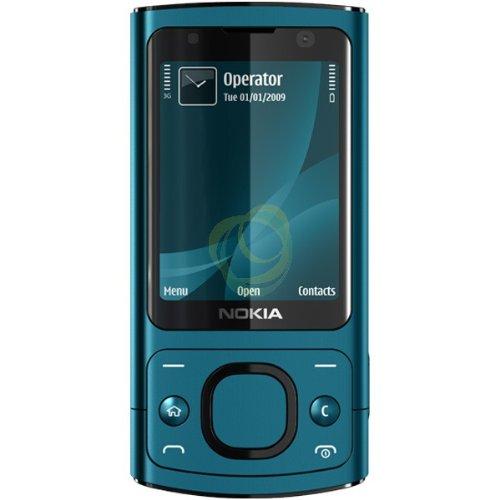 Nokia 6700Slide Handy Quadband Bluetooth Petrol -