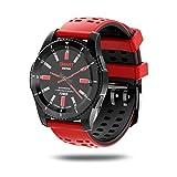 Fashion Smartwatches ★ Arbeiten Sie GS8 wasserdichte GPS-intelligente Uhr-Blutdruck-Herzfrequenz-Armbanduhr um