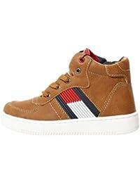 Tommy Hilfiger Kinder Schuhe - Sneaker Winter Stiefel für Jungen braun