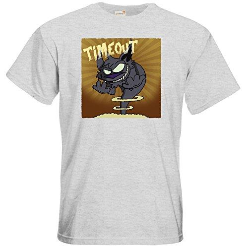 getshirts - Der Wolflings-Shop - T-Shirt - Timeout Ash