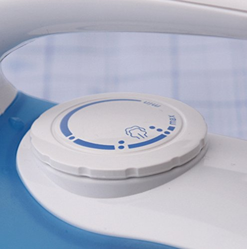 Russell Hobbs Steam Glide Travel Iron 22470, 760 W – White and Blue