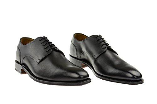 Gordon & Bros, 104-004 4374, Milano, Uomo mezzo scarpe., Nero Nero (nero)
