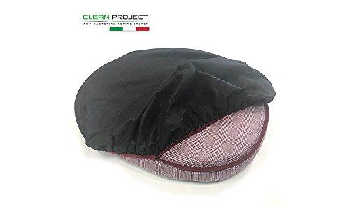 Funda cojín Medium Small, funda protección multiusos colchón, Caseta, cama del perro–Elimina Batteri y olor, impermeable, antimanchas, 50x 80