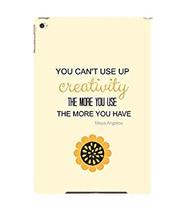 EPICCASE creative quotes Mobile Back Case Cover For Apple Ipad Air (Designer Case)