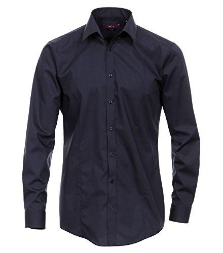 Michaelax-Fashion-Trade -  Camicia Casual  - Basic - Classico  - Maniche lunghe  - Uomo Blau (104