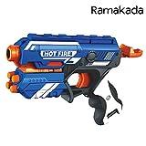 #10: Ramakada Blaze Storm Soft Bullet Gun Toy with 10 Safe Foam Bullets (T7036)