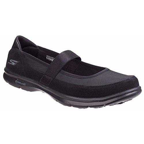 Skechers donna' Go step Snap Urban Active Mary Jane scarpe Black