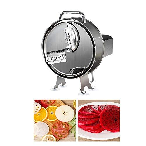 L.SMX Mandoline Gemüsehobel Aus Edelstahl, Manuelle Multifunktionsschneidemaschine, Geeignet Für Obst- Und Gemüseschneiden -