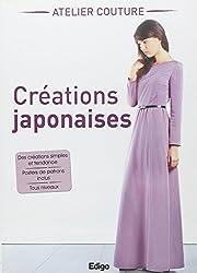 Créations japonaises. Atelier couture. Des créations simples et tendance. Posters de patrons inclus. Tous niveaux.