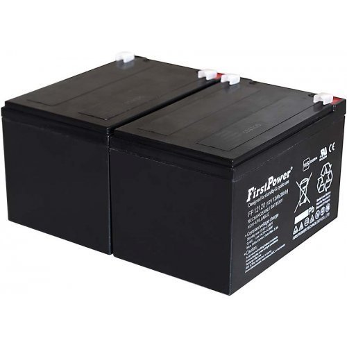Batteria First Power al Gel di piombo per: UPS APC RBC6 12Ah 12V VdS