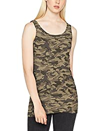 ONLY Damen Onllive Love New Aop Long Tank Top