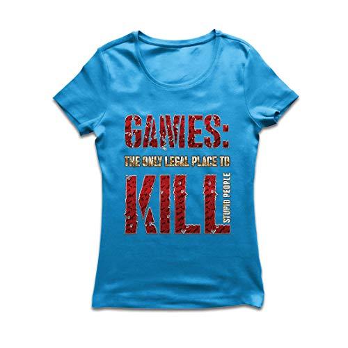 lepni.me Frauen T-Shirt Spiele: der einzige legale