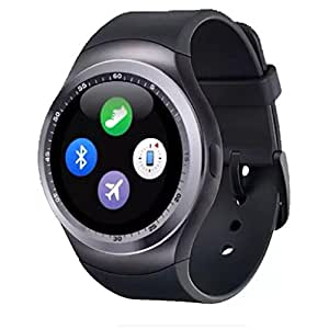 MARKLIF MKF Y1-65 BT and Fitness Tracker Smartwatch support Nano SIM Card and 32GB TF Card With Whatsapp and Facebook & Twitter APP Compatible with HTC Desire 820Q Dual Sim