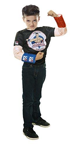 WWE 41259John Cena Deluxe Muskel Anzug (Wwe John Cena Deluxe Kind Kostüm)
