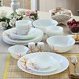 #7: DIne Kart La Opala 33 Pcs Autumn Flower Dinner Set