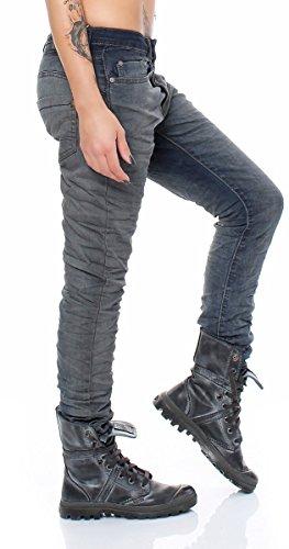 SKUTARI -  Jeans  - Jeans boot cut - Donna Denim Button 5