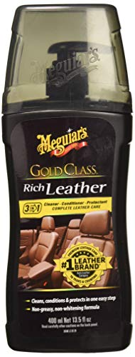 Meguiar's 72944 Gold Class Rich Leather Trattamento Pelle, Gel