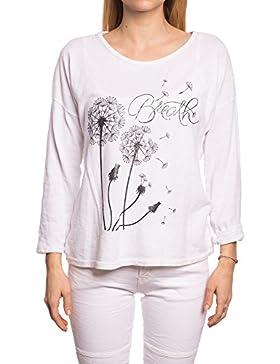 [Patrocinado]Abbino IG004 Camisas Manga Larga para Mujeres - Hecho en ITALIA - Colores Variados - Entretiempo Primavera Verano...