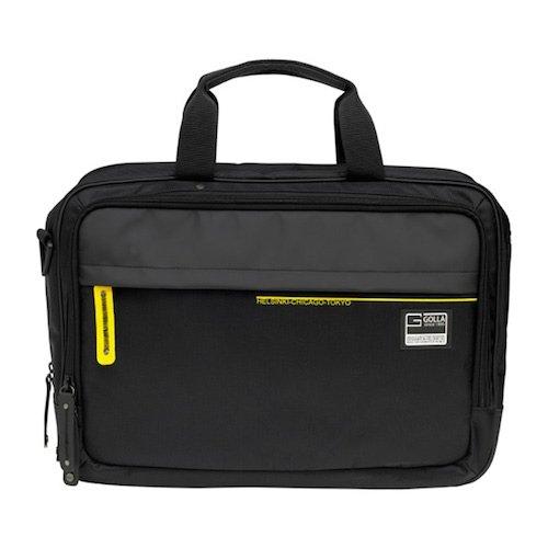Golla Laptop Bag Cabin Style - FIZ - 16 Zoll - Schwarz G1442 Tasche für Notebooks bis 16 Zoll