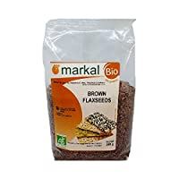 Markal 250gm Organic Brown Flax Seeds