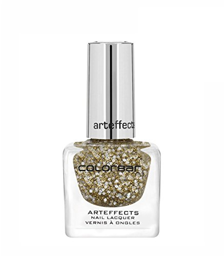 Colorbar CAN011 Art Effects Nail Lacquer, Gold, 12ml