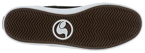 DVS Shoes Aversa, Scarpe da Skateboard Unisex – Adulto Schwarz (Black White Suede)