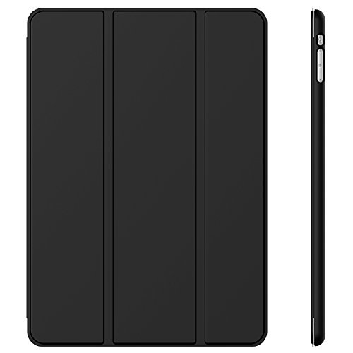 JETech Schutzhülle für Apple iPad Mini 1 2 3 (Nicht für iPad Mini 4), Smart Cover mit automatischer Sleep/Wake-Funktion, Schwarz (Case Ipad Apple 2 Smart Mini)