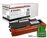 OBV Toner kompatibel für TN-2220 TN2220 TN-2010 TN2010 für Brother DCP-7065dn DCP-7070dw DCP 7060d 7070 MFC 7360 7460 Fax 2840 2940 XL Version 5200 Seiten