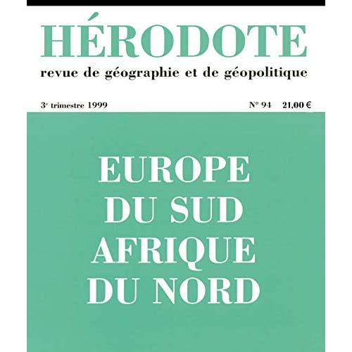 Hérodote n°94 : Europe du sud, Afrique du nord