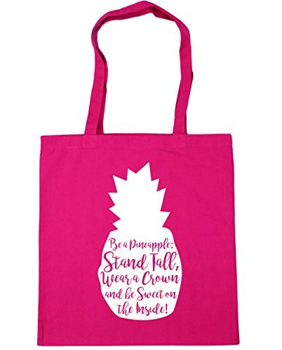 hippowarehouse-be-a-pineapple-stand-tall-wear-a-crown-and-be-sweet-on-the-inside-tote-shopping-gym-b
