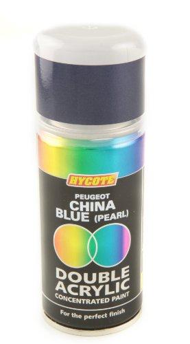 HYCOTE xdpg217acrílica doble spray de pintura para Peugeot 150ml-China Blue