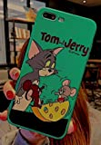 Art-design Coque iPhone X et XS Tom et Jerry Chat et Souris Cat and Mouse Mange Le...