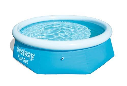 Bestway Fast Set Pool rund, stellt sich von selbst auf, 244 x 66 cm