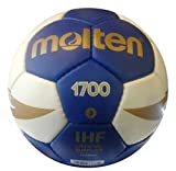 Molten Pallone Pallamano H3X1700, Azzurro-Bianco, 3